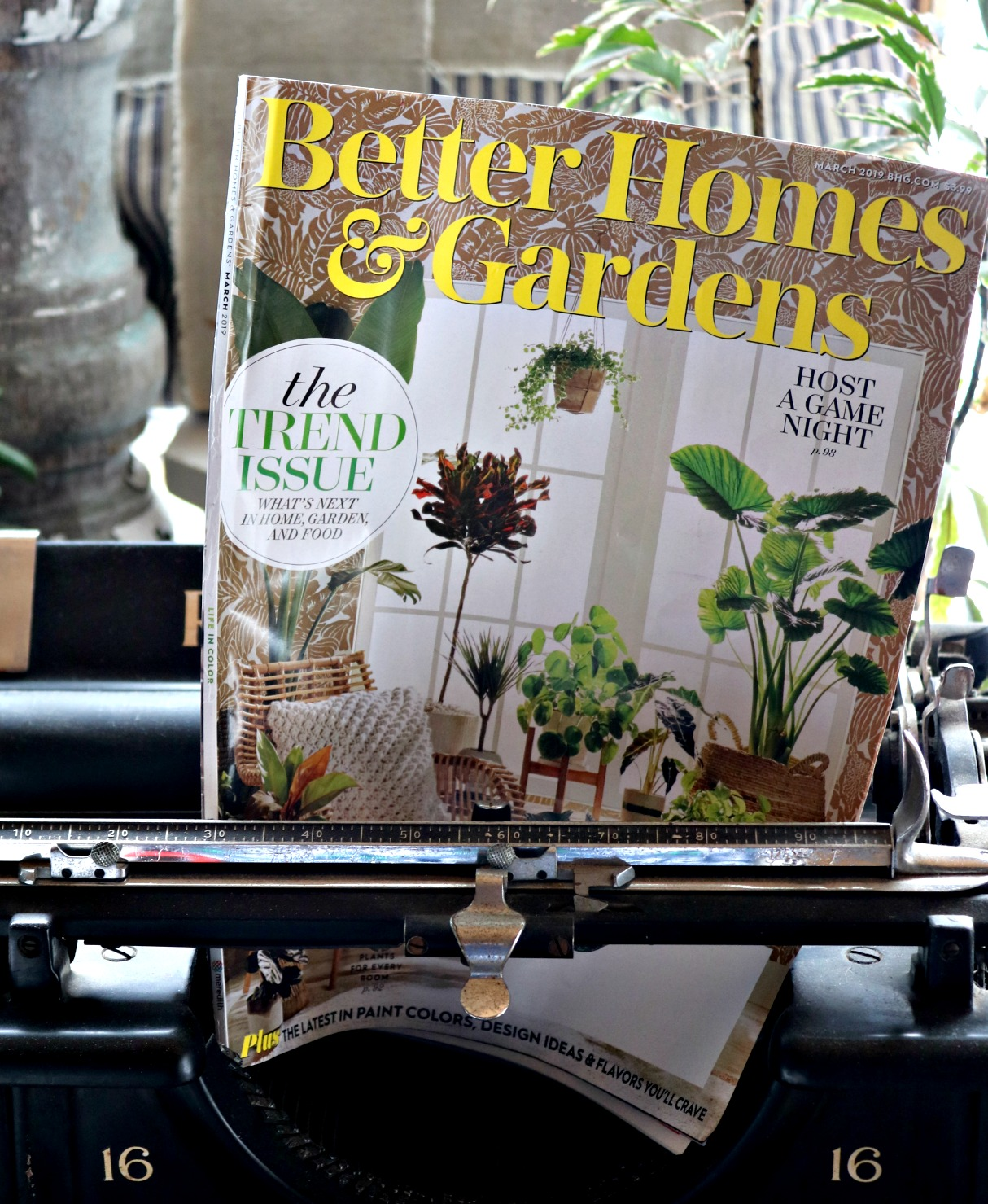 To Trend or Not To Trend? What's trending and how you can vote on the trends at Better Homes & Gardens magazines for their March Madness